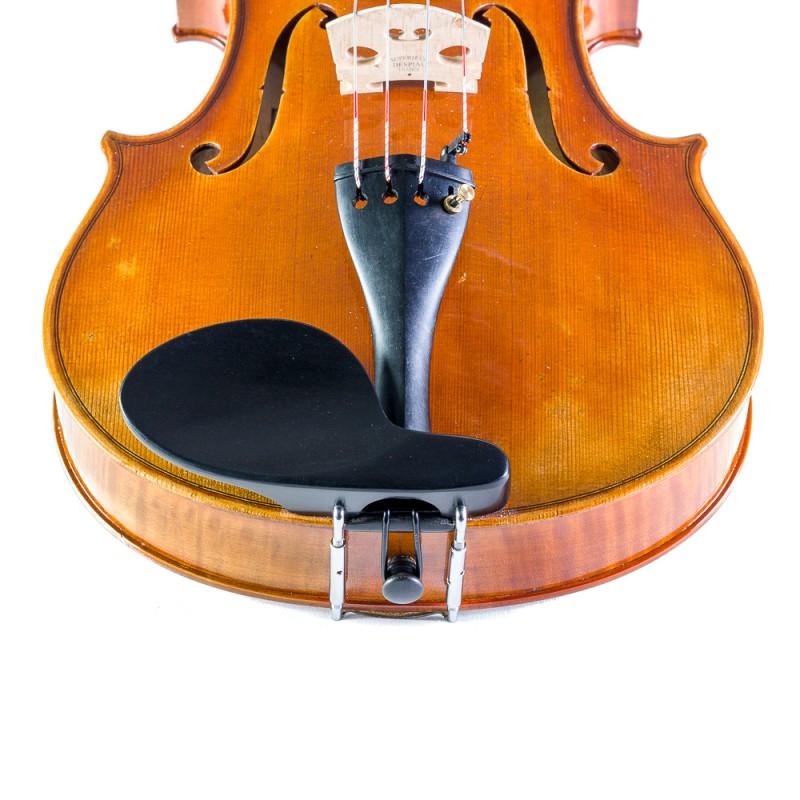 Accesorios - Barbada lateral sobre cordal para viola de ébano