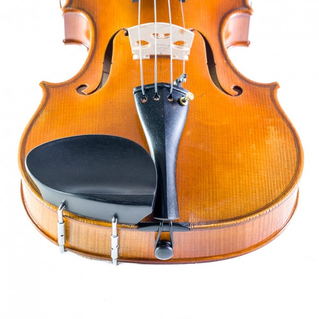 Barbada violín Guarneri lateral ébano patas tipo Hill 4/4-3/4
