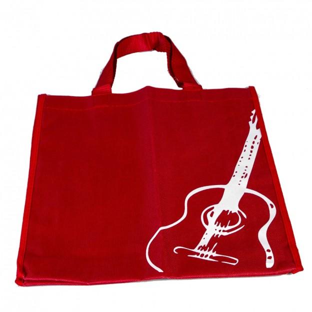 Bolsa roja guitarra clásica