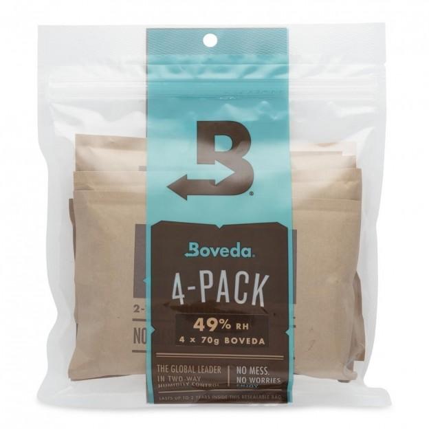 Boveda pack 4 unidades 49%
