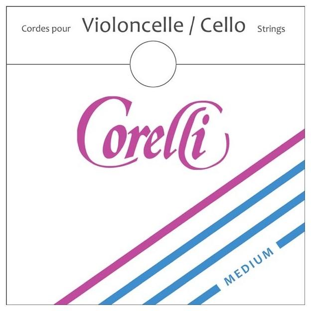 Cuerda cello Corelli 484 4ª Do Medium