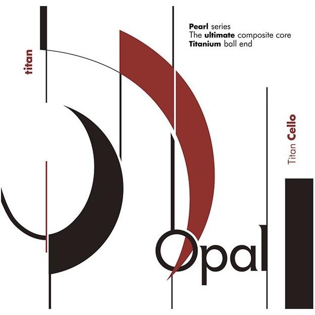 Cuerda cello For-Tune Opal Titan 2ª Re acero Medium