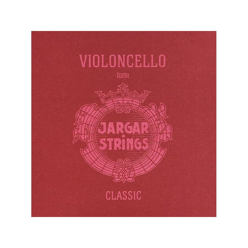 Cuerdas - Cuerda cello Jargar 3ª Sol plata Forte