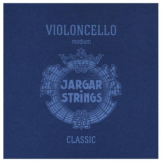 Cuerda cello Jargar 3ª Sol plata Medium