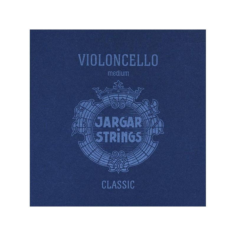 Cuerdas - Cuerda cello Jargar 3ª Sol plata Medium