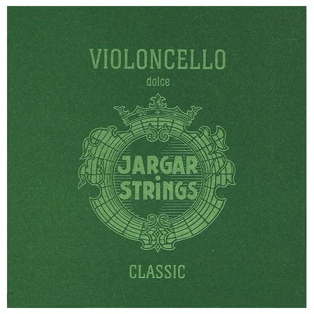 Cuerda cello Jargar 4ª Do plata Dolce