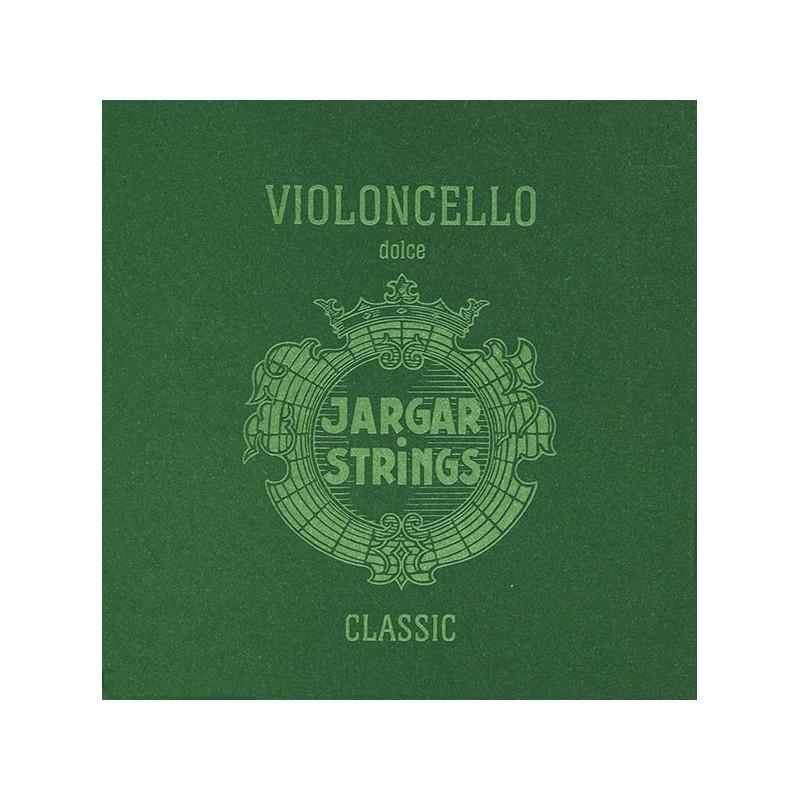 Cuerdas - Cuerda cello Jargar 4ª Do plata Dolce