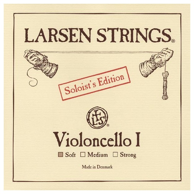 Cuerda cello Larsen 1ª La Soloist's Ed Soft