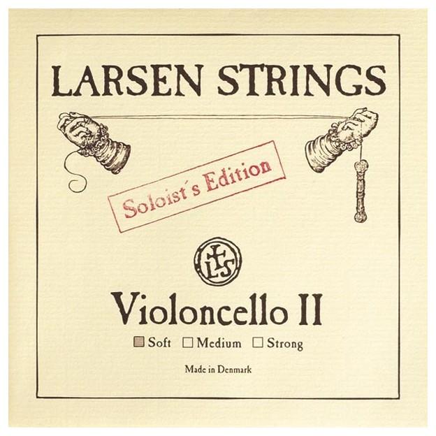 Cuerda cello Larsen 2ª Re Soloist's Ed Soft