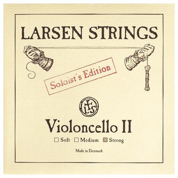 Cuerda cello Larsen 2ª Re Soloist's Ed Strong