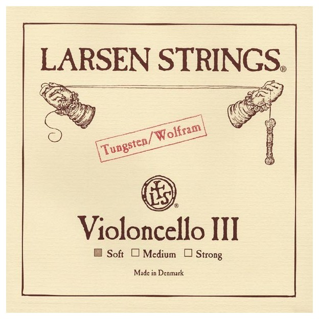 Cuerda cello Larsen 3ª Sol Soft