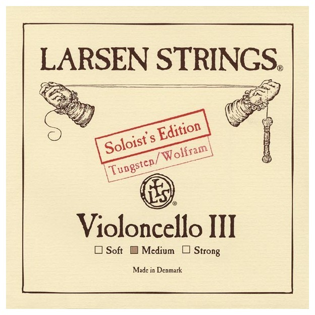 Cuerda cello Larsen 3ª Sol Soloist's Ed Medium