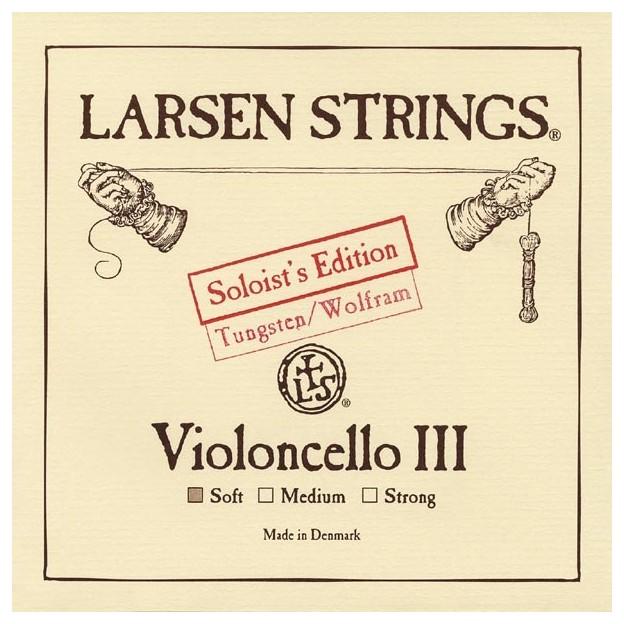 Cuerda cello Larsen 3ª Sol Soloist's Ed Soft