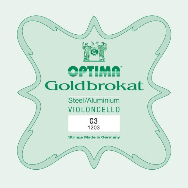 Cuerda cello Optima Goldbrokat 1203 3ª Sol Medium