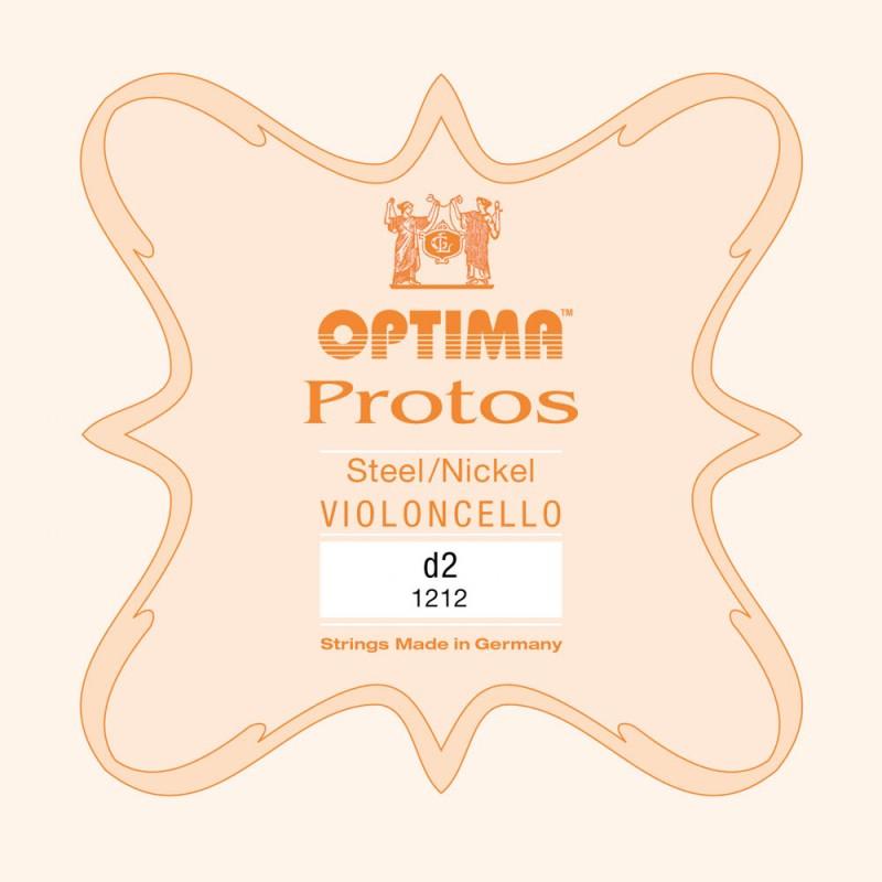 Cuerdas - Cuerda cello Optima Protos 1212 2ª Re Medium