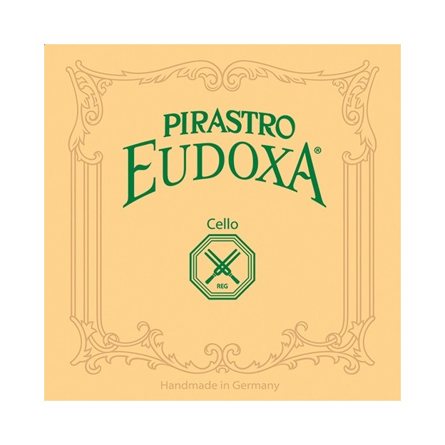 Cuerda cello Pirastro Eudoxa 234340 3ª Sol 26 1/2 tripa-plata Medium