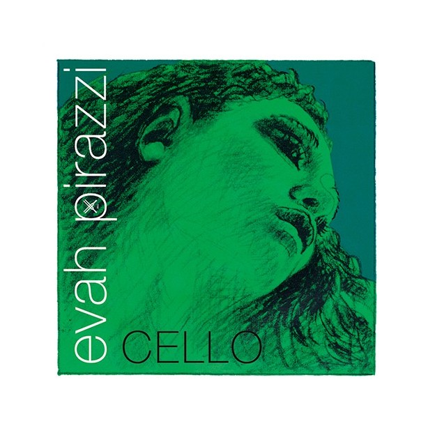 Cuerda cello Pirastro Evah Pirazzi 332210 2ª Re Light