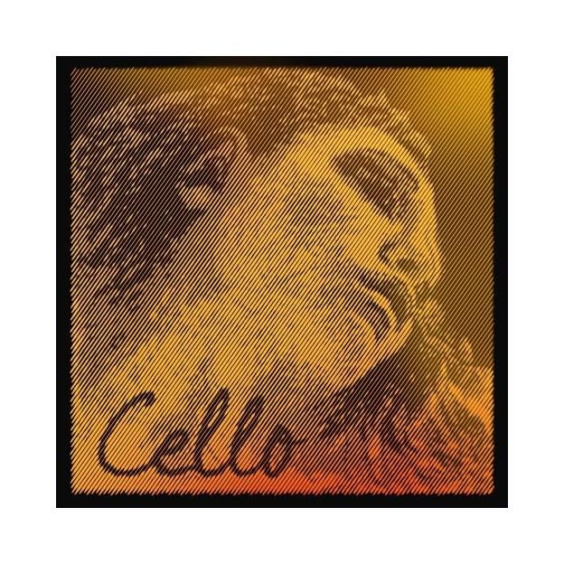 Cuerda cello Pirastro Evah Pirazzi Gold 335120 1ª La Medium