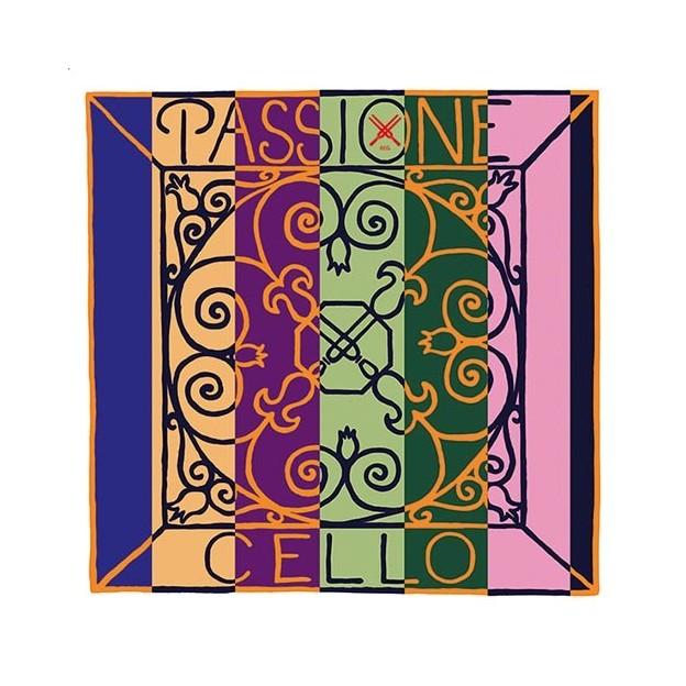 Cuerda cello Pirastro Passione (STEEL) 334230 2ª Re acero/cromo Heavy