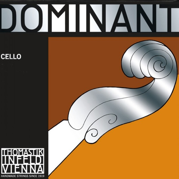 Cuerda cello Thomastik Dominant 144A 3ª Sol plata Medium
