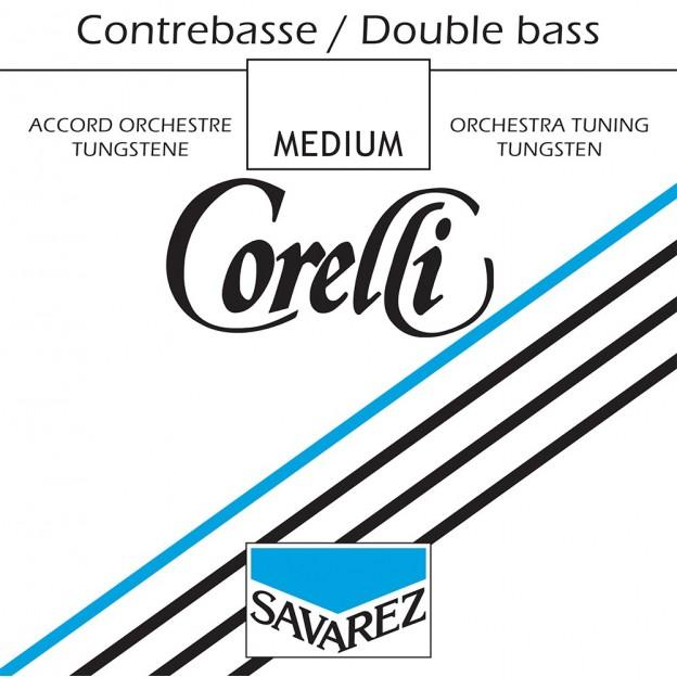 Cuerda contrabajo Corelli orquesta tungsteno 1ª Sol Medium