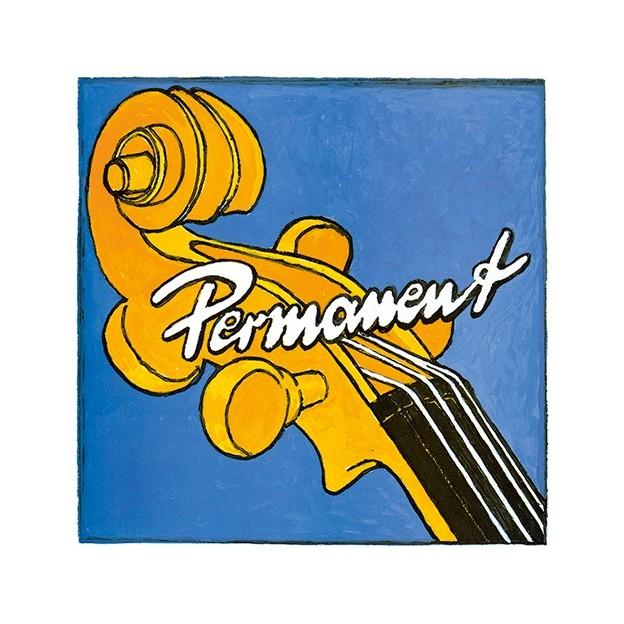 Cuerda contrabajo Pirastro Permanent Soloist 343400 4ª Fa Sostenido Medium