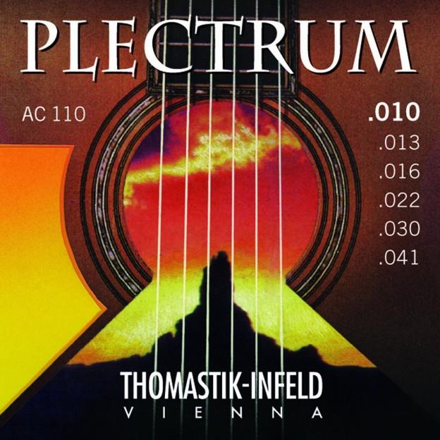 Cuerda guitarra acústica Thomastik Plectrum AC030 5ª La