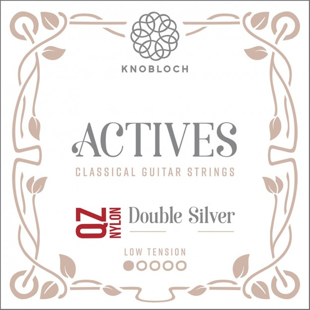 Cuerda guitarra Knobloch Actives Double Silver Nylon Q.Z. 201AQZ E1 suelta Low
