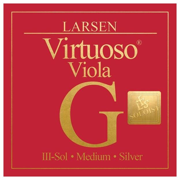 Cuerda viola Larsen Virtuoso Soloist 3ª Sol Medium