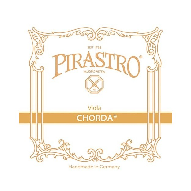Cuerda viola Pirastro Chorda 222341 3ª Sol 16 1/2 Tripa-plateada Medium