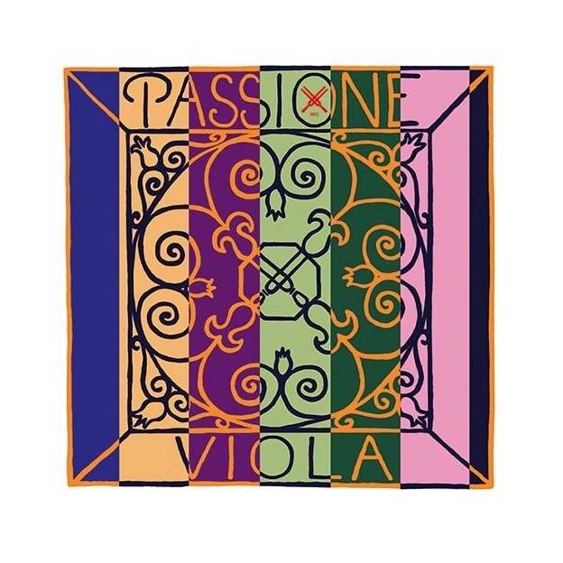 Cuerda viola Pirastro Passione 229451 4ª Do 20 1/4 Tripa/tungsteno-plata Heavy