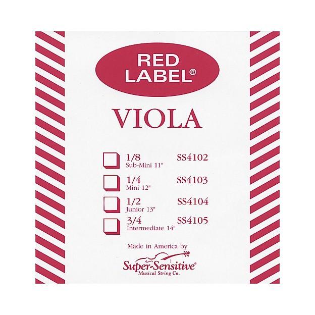 Cuerda viola Super-Sensitive Red Label 4127 2ª Re