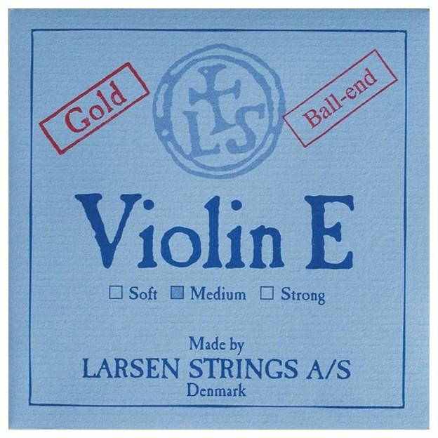 Cuerda violín Larsen 1ª Mi Bola oro Medium