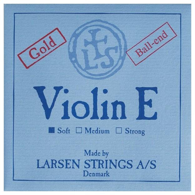 Cuerda violín Larsen 1ª Mi Bola oro Soft