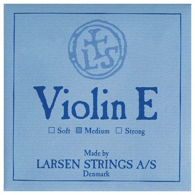 Cuerda violín Larsen 1ª Mi lazo Medium