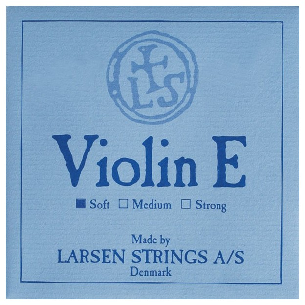 Cuerda violín Larsen 1ª Mi lazo soft