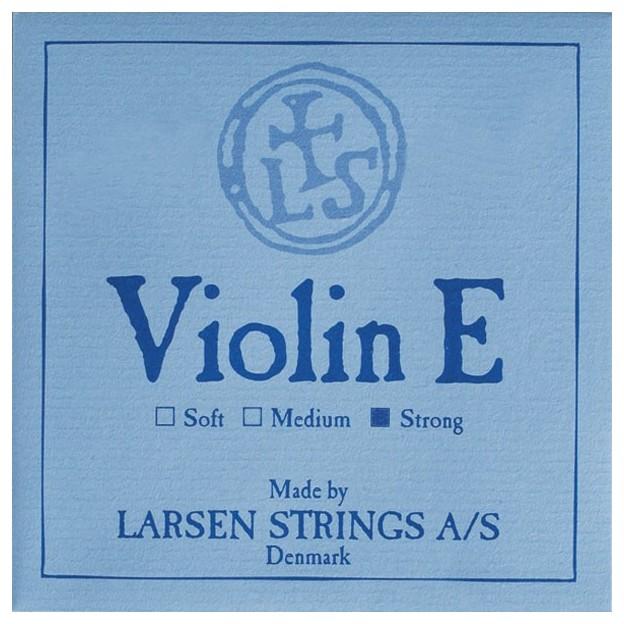 Cuerda violín Larsen 1ª Mi lazo Strong
