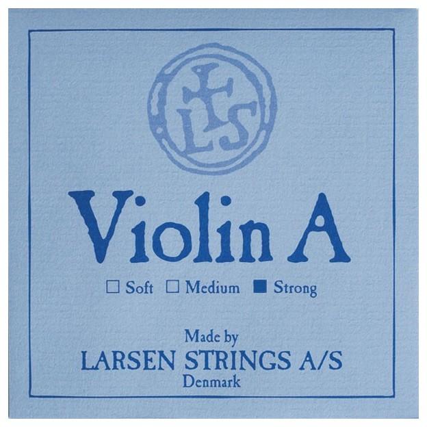 Cuerda violín Larsen 2ª La aluminio sobre azul Strong