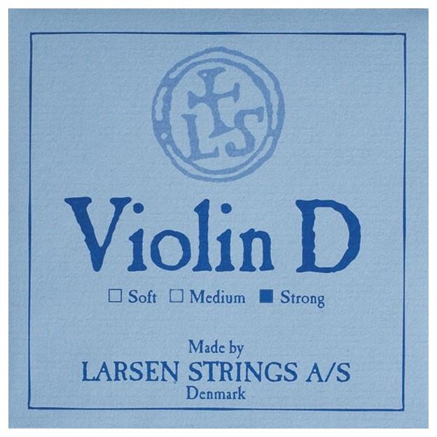 Cuerda violín Larsen 3ª Re aluminio Strong