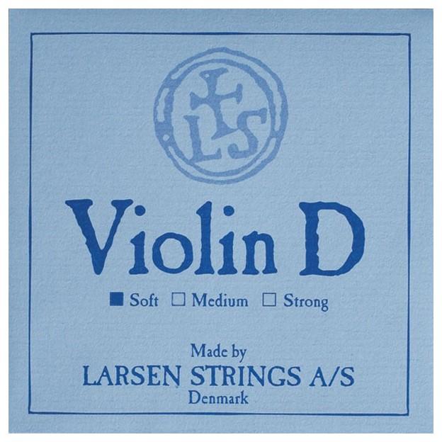 Cuerda violín Larsen 3ª Re plata Soft