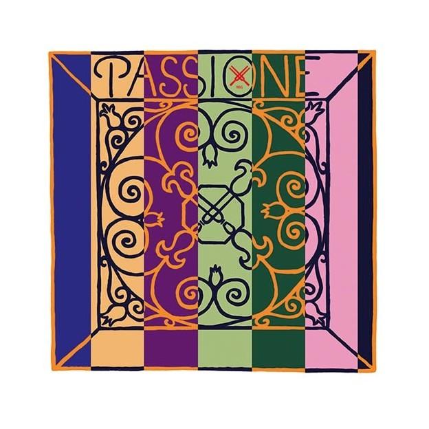 Cuerda violín Pirastro Passione 219441 4ª Sol 16 1/2 tripa/plata Medium