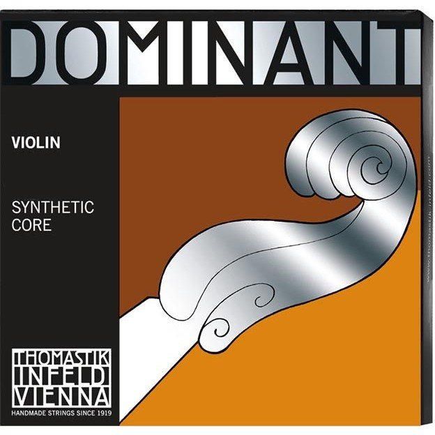 Cuerda violín Thomastik Dominant 130W 1ª Mi Bola acero-aluminio Light