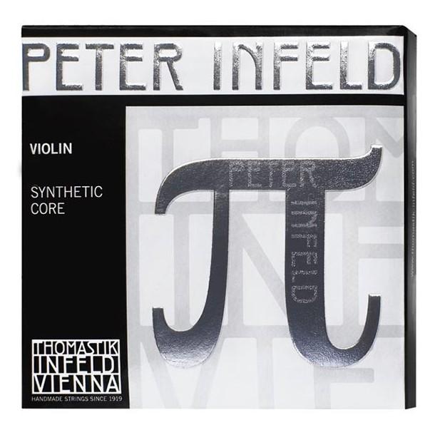 Cuerda violín Thomastik Peter Infeld PI01SN 1ª Mi Bola estaño Medium