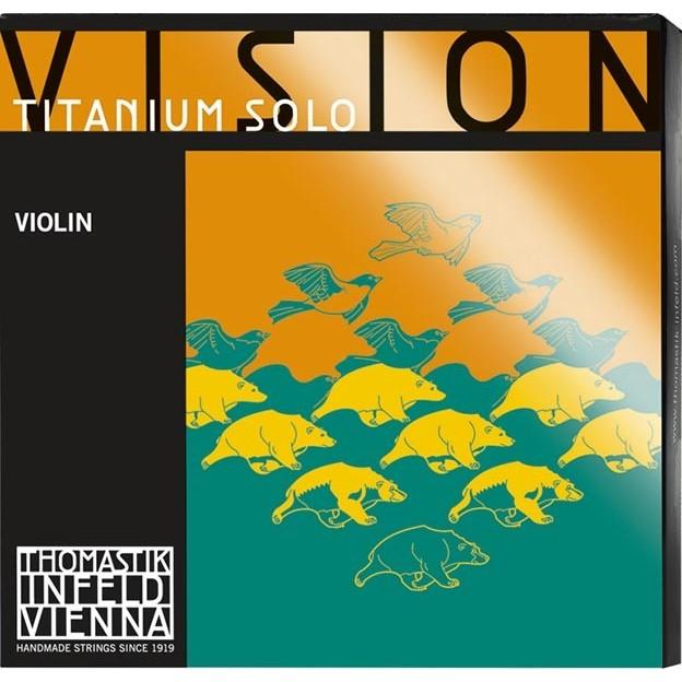 Cuerda violín Thomastik Vision Titanium Solo VIT01 1ª Mi Bola Medium