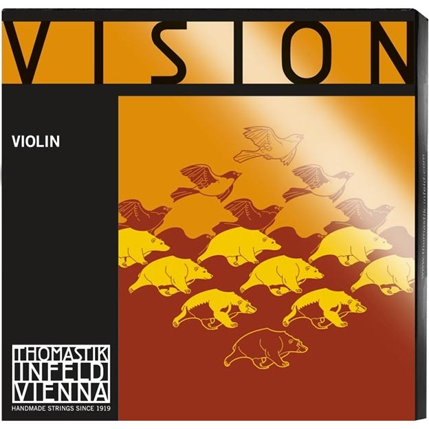 Cuerda violín Thomastik Vision VI01ST 1ª Mi Bola removible Heavy
