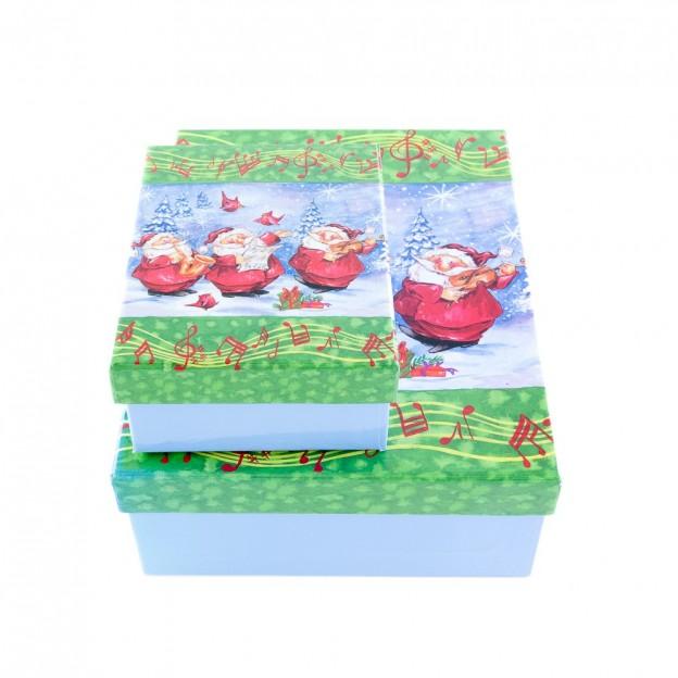 Dos cajas Papá Noel