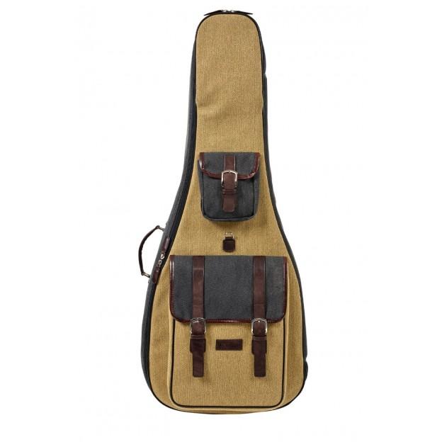 Estuche Guitarra Acústica BAM Nashville NASH8003SCA gris/beige