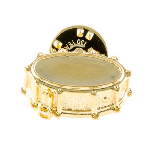 Pin tambor dorado