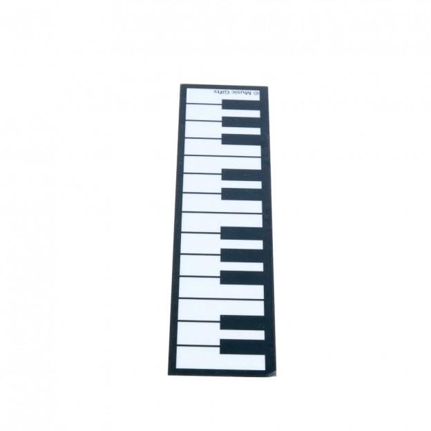 Punto de libro teclado de piano