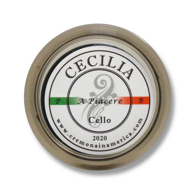Accesorios - Resina cello Cecilia Rosin A Piacere pequeña